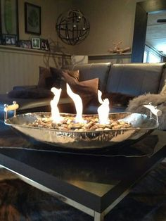 Table Top Fire Bowl Great For Small Spaces♥