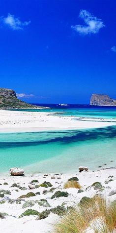 ✯ Balos Bay - Gramvousa, Crete,Greece Maral te odio, pensar q vas a ver esto en dos semanas                                                                                                                                                      Más