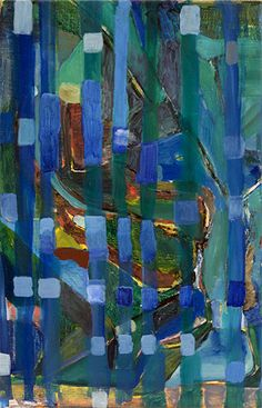 Varda Caivano, Untitled, oil on canvas, 2009