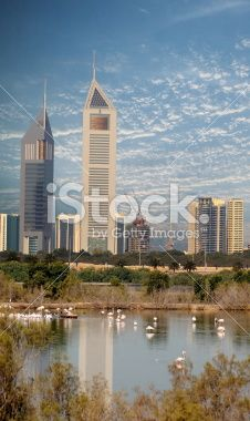 Emirates Towers Royalty Free Stock Photo