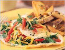 South Beach Diet Western Egg White Omelet