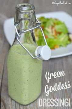 I have the perfect Green Goddess dressing recipe for you to jazz things up if your salads are getting a little predictable and boring! Plus since it's summertime you can kick