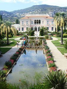 Villa Rothschild in St Jean Cap Ferrat ~