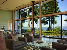 #dreamhouseoftheday with an amazing view! Port Ludlow Washington State.