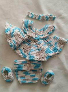 Hey, I found this really awesome Etsy listing at https://www.etsy.com/listing/223330273/0-3-month-crochet-baby-girl-set