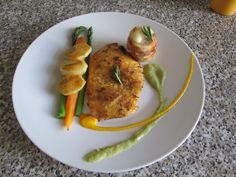 JHS / Pollo asparagi e zucchina ,carote e patate  Gino D'Aquino