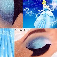 croqui-maquiagem-princesa Disney Character Makeup, Disney Eye Makeup, Disney Inspired Makeup, Disney Princess Makeup, Eye Makeup Art, Fairy Makeup, Mermaid Makeup, Gothic Makeup, Fantasy Makeup