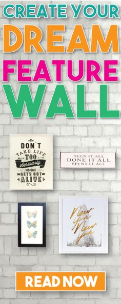Whether you're looking for walls with a WOW factor, or perhaps you just need a refresh, a good feature wall can dramatically change your living space and is a really good excuse to literally splash your personality up the walls.