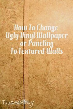 Pinterest  The Worlds Catalog Of Ideas - How to make vinyl decals stick to textured walls