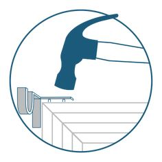 Product Info How do Kwik-Hang curtain rod brackets work? Do Kwik-Hang brackets work with every type of window? Does the window trim need to be a certain width? Window trim must be at least inch wide to accommodate the Kwik-Hang bracket.