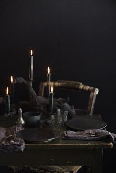 dark and dramatic, perfect for holiday entertaining..