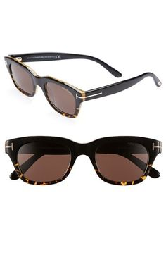 e84bdf08103d22 Tom Ford  Snowdon  50mm Sunglasses available at  Nordstrom Tom Ford Men,  Sunglasses