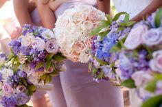 Round White Rose Bouquet