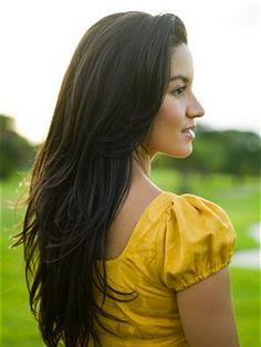 natural Ways to Get Thicker Hair - Im gonna try pretty much everything on this page! Sounds legit