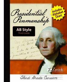 Presidential Penmanship--AB Style Grade 3 (Cursive) - Zeezok Publishing LLC   AB Handwriting Style   CurrClick