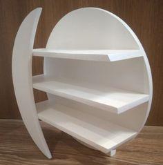 Ladder Shelf Diy, Diy Wall Shelves, Display Shelves, Shelving, Funky Furniture, Unique Furniture, Rustic Furniture, Diy Crafts For Home Decor, Diy Home Decor Bedroom