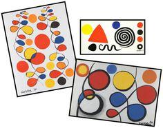 Alexander Calder - have them draw shapes