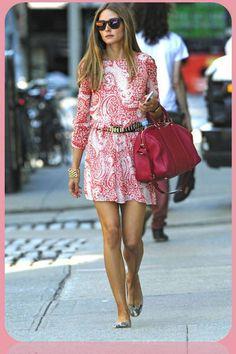 Olivia Palermo se apunta al calzado plano