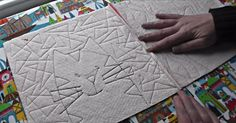 Learn The Basics Of The Quilt As You Go Technique!