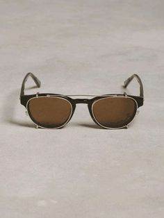 John Varvatos   Classic Round Flip Sunglasses #JohnVarvatos #sunglasses