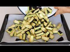 PATLICANI KIŞ İÇİN BÖYLE SAKLAYIN😍LEZZETİNE DOYUM OLMAYAN PATLICAN🍆 - YouTube East Dessert Recipes, Desserts, Preserving Food, Savoury Dishes, Food Pictures, Asparagus, Green Beans, Zucchini, Food To Make