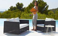 Diamond - Lounge Weave - White - Tex Model Outdoor Sofa, Outdoor Furniture Sets, Outdoor Decor, Lounge, Weave, Model, Collection, Diamond, Home Decor