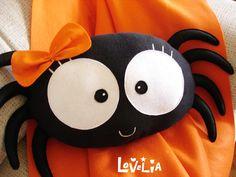 Pacha the Spider CUSHION -Decorative plush pillow -