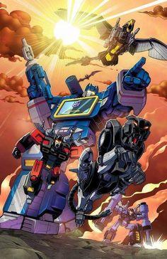 Transformers Super Senshi File art book