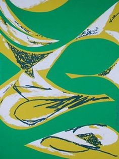"""Lee Krasner, Free space II, 1975 """"I have never been able to understand the artist whose image never changes."""""""