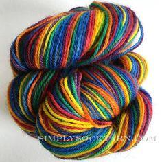 Simply Socks Yarn Company features Poste Stripe Oz.
