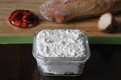 Homemade Ricotta Cheese - looks super simple to do!