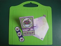Bonscraft: Easel Card and Envelope made with the Hougie Board