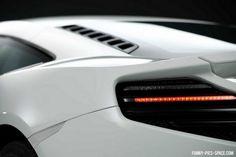 Lamborghini Aventador tail lights