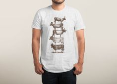 Check out the design Cow Cow Nuts by Florent Bodart on Threadless