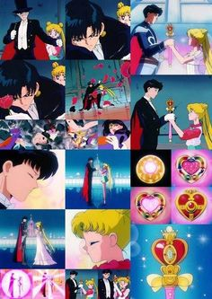 Sailor Moon S ep.91 The Rod of Love is Born! Usagi's New Transformation Usagi and Mamoru.
