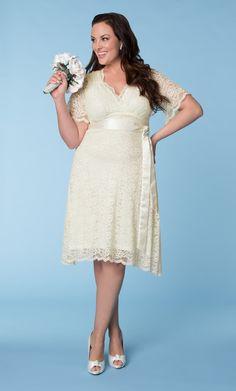 Lane Bryant: LACE CONFECTION WEDDING DRESS BY KIYONNA $248.00