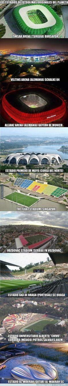504147 - Los estadios más originales del mundo. Quién los tuviera como vistas desde su habitación