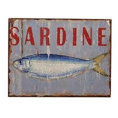 Cartello Sardine