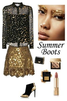"""""""Summer Glam"""" by kotnourka ❤ liked on Polyvore featuring Matthew Williamson, RED Valentino, Kat Maconie, Burberry, Forever 21, Dolce&Gabbana and Jimmy Choo"""