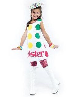 girls costume board game twister classic costume - Board Games Halloween Costumes