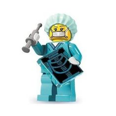 Got a mystery Lego from Walmart & this was the Lego inside. A Nurse Anesthetist Lego ;)
