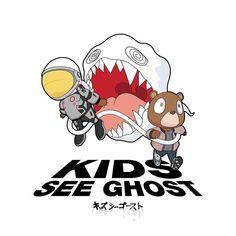 Kanye West & Kid Cudi: Kids See Ghost...Run Kid Cudi Kanye West, Kanye West Bear, Kanye West Kids, Hip Hop Quotes, Rap Quotes, Lyric Quotes, Kanye West Tattoo, Kid Cudi Tattoos, Kid Cudi Wallpaper