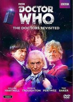 This collection contains short documentaries about each of the first four actors who portrayed the indelible British television character DOCTOR WHO, and it also contains all the episodes from a memor
