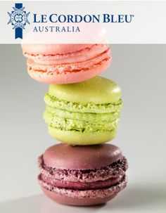 Le Cordon Bleu Chefs have prepared macaroons, one of the classics of ...