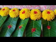Vinayagar sathurthi special samanthi poo Manjal, k / Diwali Decorations At Home, Wedding Stage Decorations, Festival Decorations, Flower Decorations, Rangoli Designs Flower, Rangoli Designs Diwali, Flower Rangoli, Ganpati Decoration Design, Thali Decoration Ideas