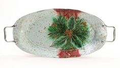Holiday Gifts : Holly Berry Tray