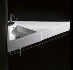 46 Best Corner bathroom sinks images | Bathroom, Corner ...