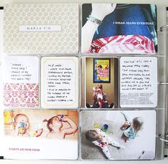 Design Editor (Catherine) - love the use of the Martha Stewart label on a piece of patterned paper for the week title!