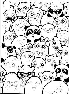 Template Doodle / Caricatura