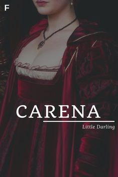 Carena meaning Little Darling Latin names C baby girl names C baby names female names whimsical baby names baby girl names traditional names names that start with C strong baby names unique baby names feminine names nature names Latin Names Baby, Hispanic Baby Names, Strong Baby Names, Baby Girl Names Unique, Names Girl, Kid Names, Greek Names, Unique Female Names, Girl Names With Meaning